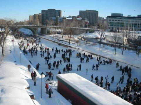 Snow in Ottawa, 2008