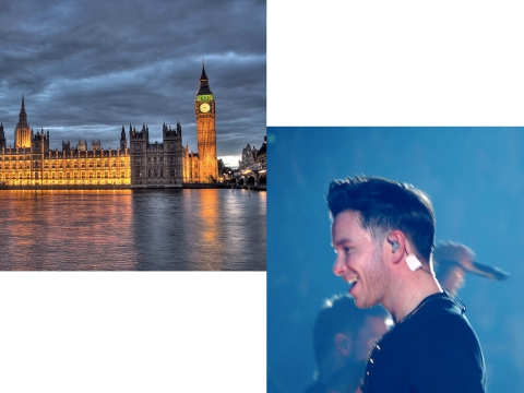 What's the Connection Between the British Parliament and an Irish Pop Star?