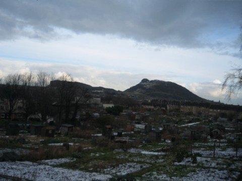Snow in Edinburgh, 2007